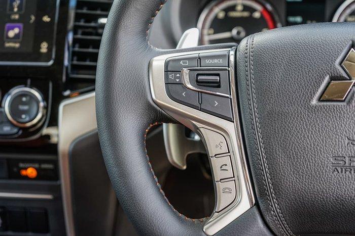 2020 Mitsubishi Triton GSR MR MY20 4X4 Dual Range Black