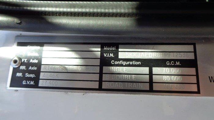 2015 WESTERN STAR 4900 FXC null null White