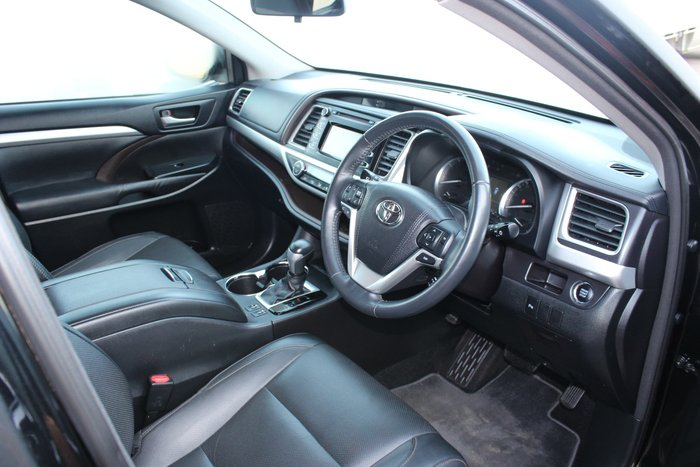 2015 Toyota Kluger GXL GSU50R Black
