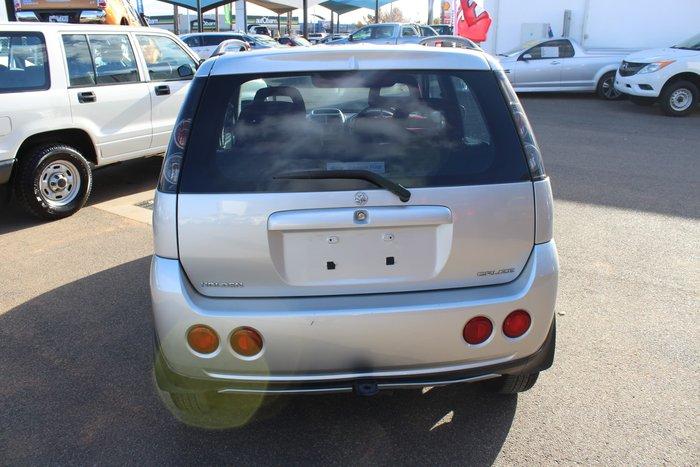 2004 Holden Cruze YG 2 4X4 On Demand Silver Mesh