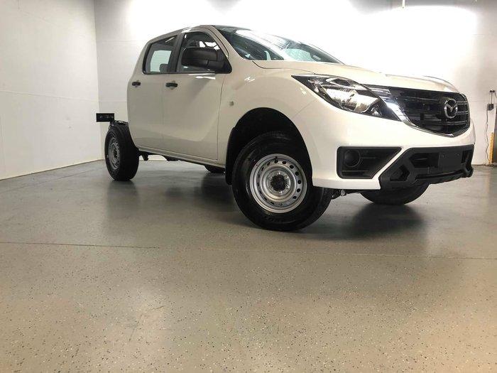 2020 Mazda BT-50 XT UR 4X4 Dual Range White