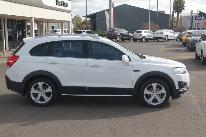2015 Holden Captiva 7 LTZ CG MY15 4X4 On Demand White