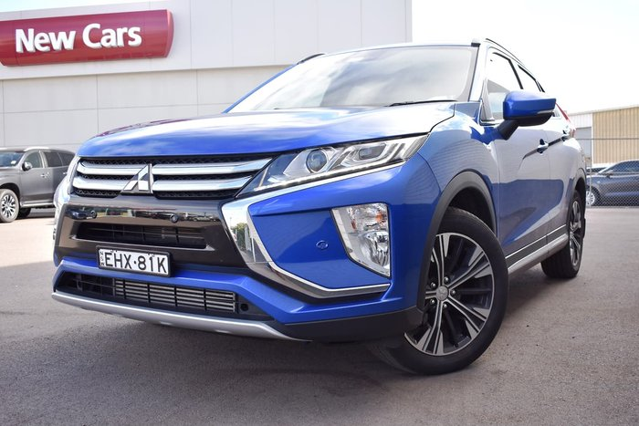 2018 Mitsubishi Eclipse Cross ES YA MY18 Blue