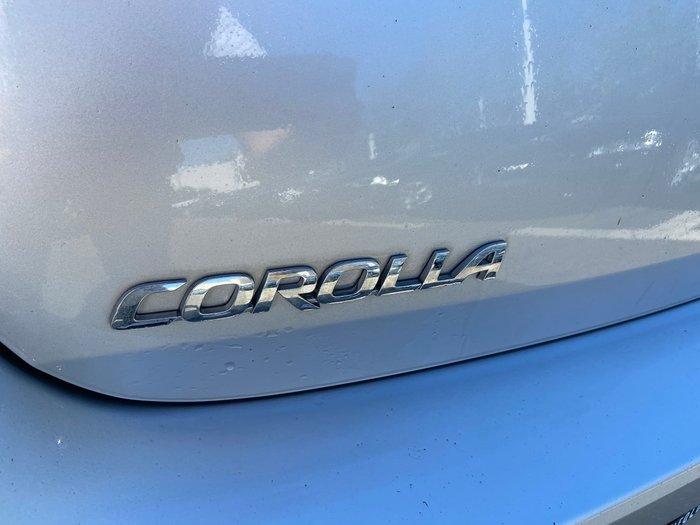 2017 Toyota Corolla Hybrid ZWE186R Silver