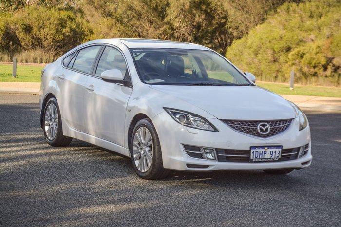 2008 Mazda 6 Luxury GH Series 1 White