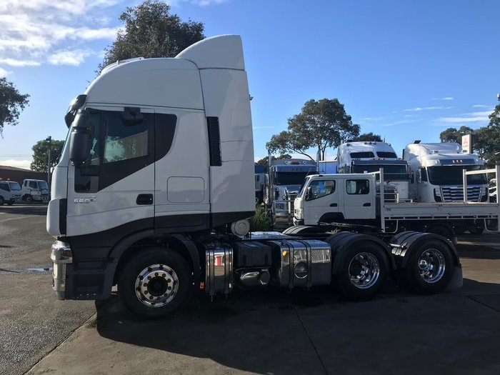 2015 IVECO STRALIS 560 null null WHITE