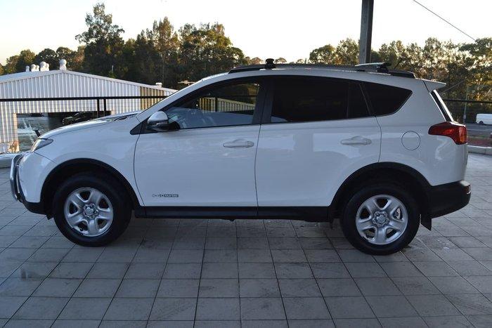 2015 Toyota RAV4 GX ALA49R 4X4 On Demand White