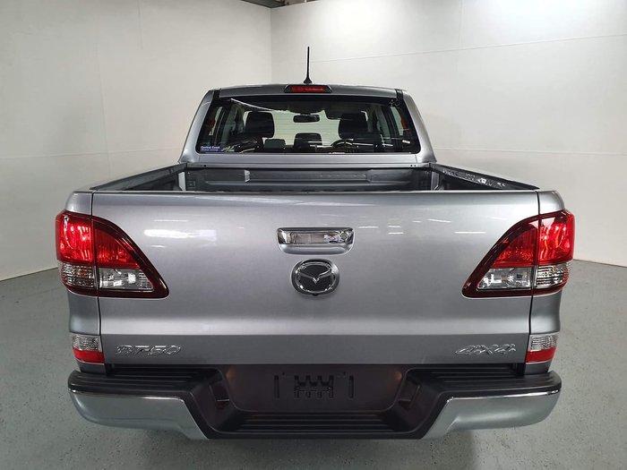 2019 Mazda BT-50 XTR UR 4X4 Dual Range Silver