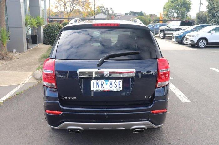 2018 Holden Captiva LTZ CG MY18 4X4 On Demand Blue