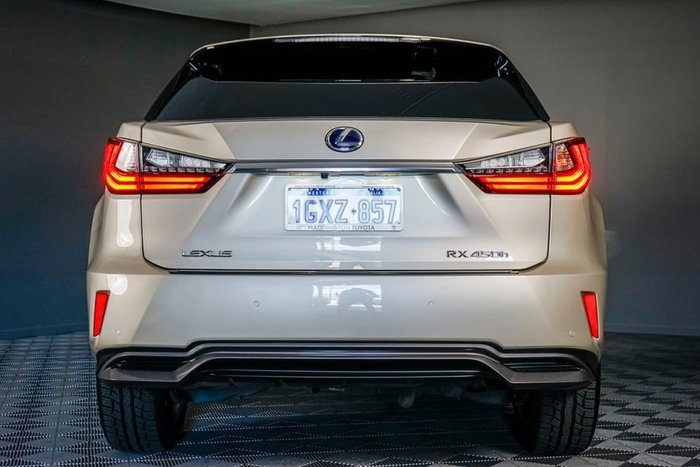 2015 Lexus RX RX450h Luxury GYL25R 4X4 On Demand Gold