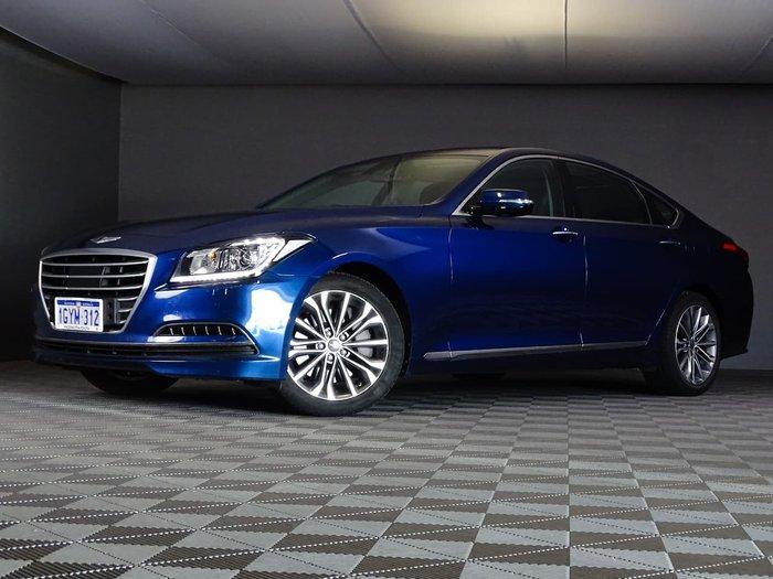 2014 Hyundai Genesis DH Blue