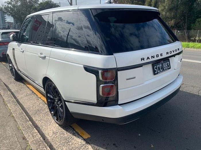 2018 Land Rover Range Rover V8SC Autobiography L405 MY19 4X4 Dual Range White