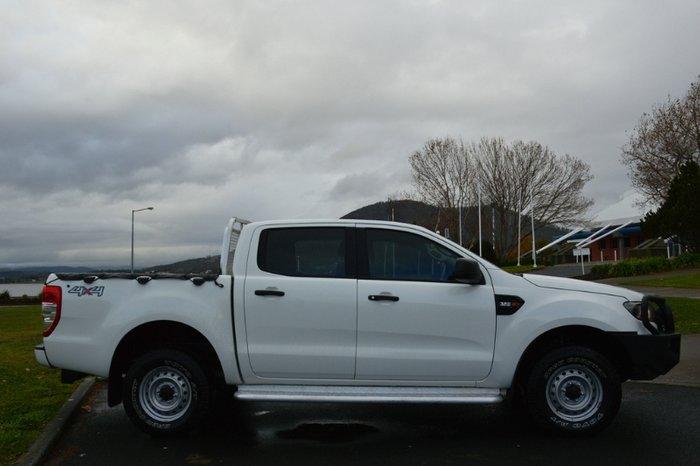 2015 Ford Ranger XL PX MkII 4X4 Dual Range WHITE