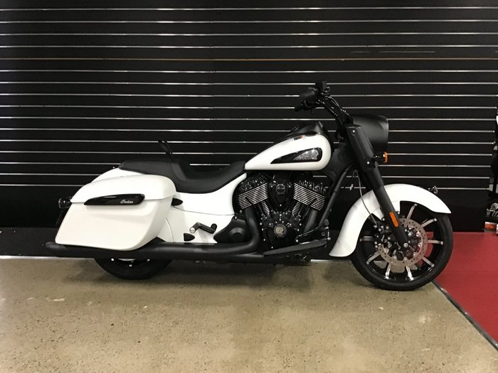 2020 Indian SPRINGFIELD DARK HORSE WHITE