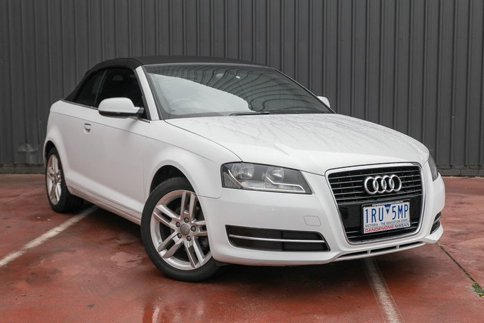 2012 Audi A3 Attraction 8P MY12 White