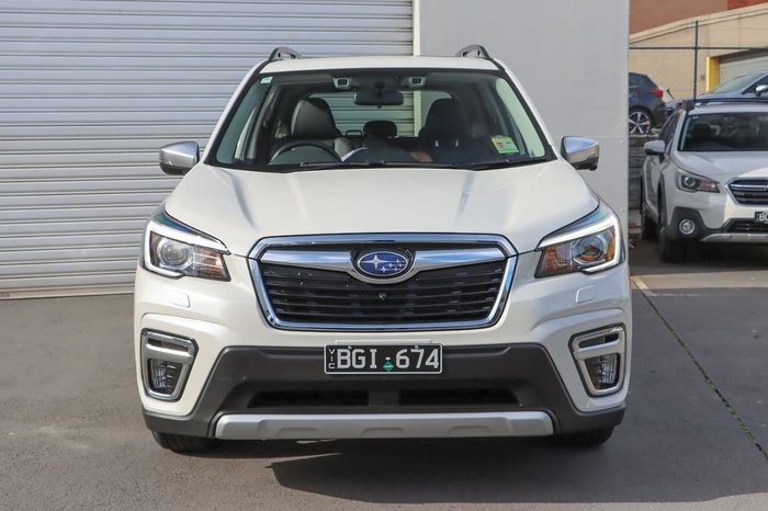 2020 Subaru Forester Hybrid S S5 MY20 Four Wheel Drive White