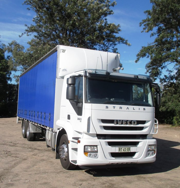 2012 IVECO STRALIS null null White
