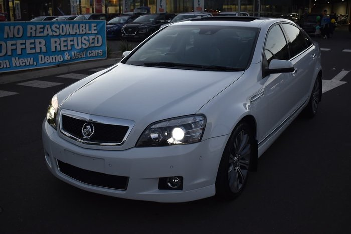 2015 Holden Caprice V WN MY15 White