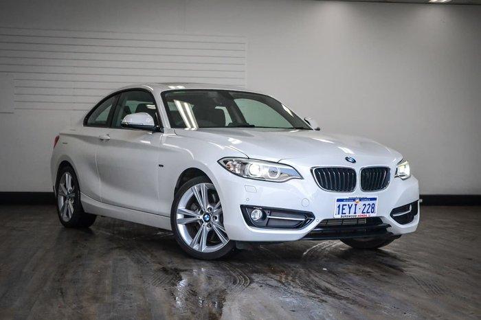2015 BMW 2 Series 228i Sport Line F22 White