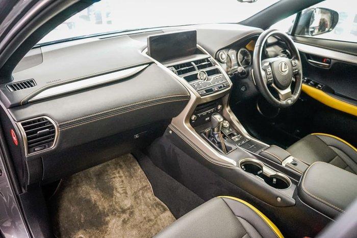 2018 Lexus NX NX300 F Sport AGZ15R 4X4 On Demand Grey