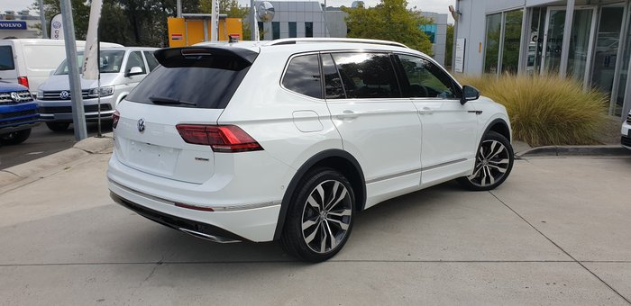 2020 Volkswagen Tiguan 162TSI Highline Allspace 5N MY20 Four Wheel Drive White