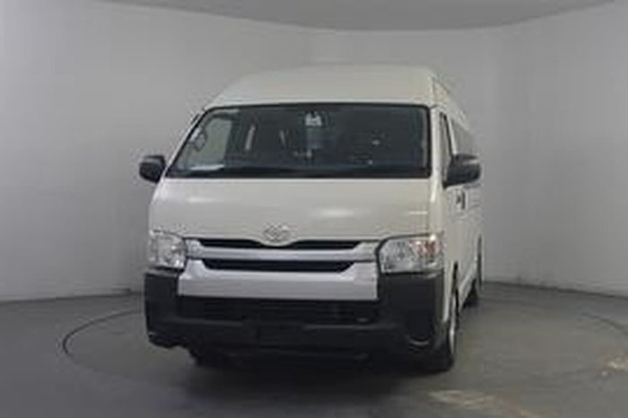 2019 TOYOTA HIACE COMMUTER null null WHITE