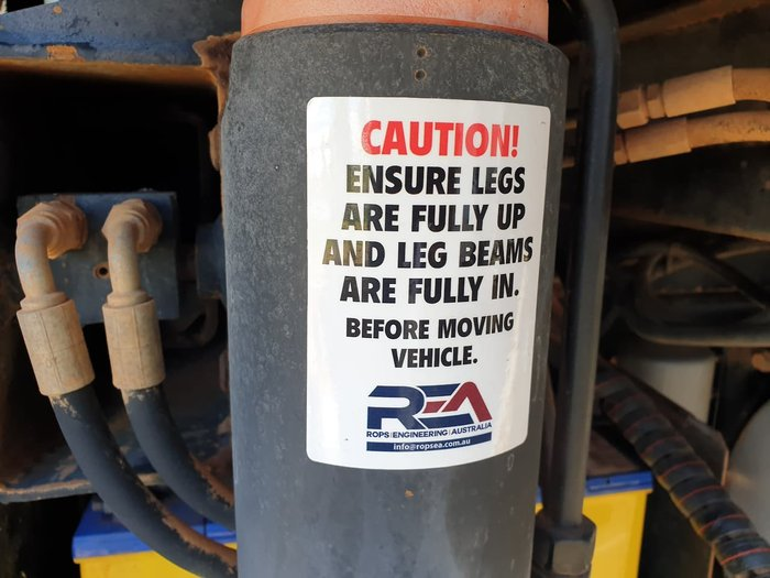 2008 IVECO ACCO 2350G REAR MOUNT HIAB null null WHITE