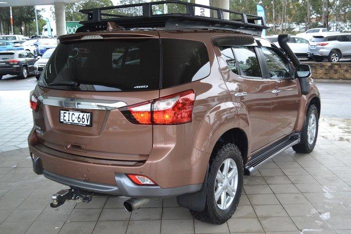 2016 Isuzu MU-X LS-T MY15 4X4 Dual Range Brown