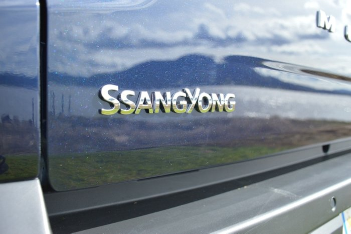 2019 SsangYong Musso Ultimate Q201 MY19 4X4 Dual Range ATLANTIC BLUE