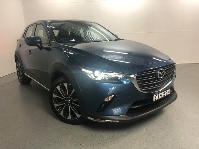 2020 Mazda CX-3 sTouring DK Blue