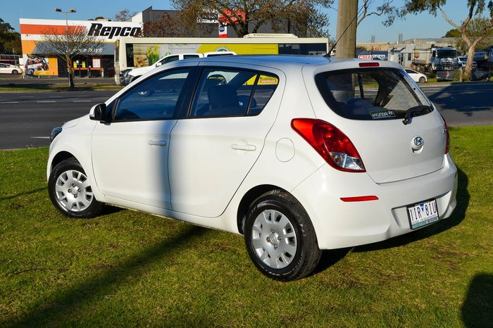 2015 Hyundai i20 Active PB MY15 White