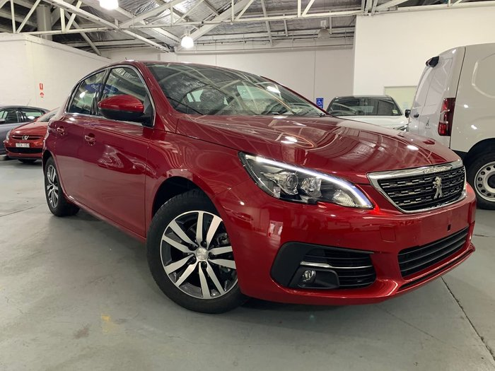 2019 Peugeot 308 Allure T9 MY20 Red