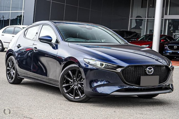 2019 Mazda 3 G25 Astina BP Series Blue