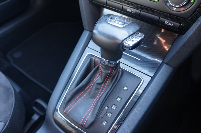 2012 SKODA Octavia RS 147TSI 1Z MY12 Black