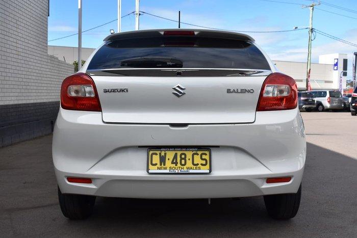 2016 Suzuki Baleno GL EW White