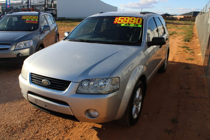 2005 Ford Territory TS SX Silver