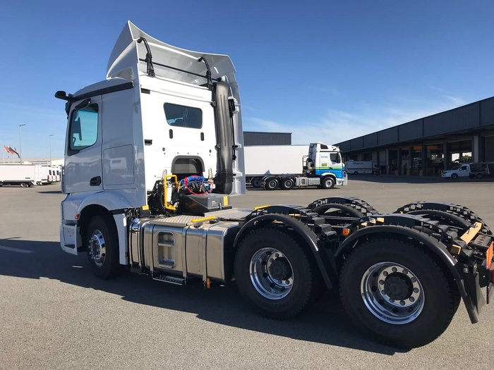 2020 MERCEDES-BENZ ACTROS 2653LS null null White
