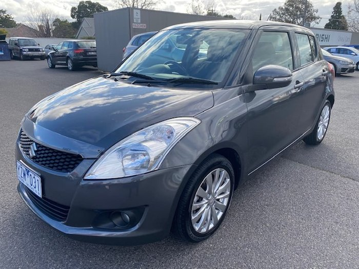 2011 Suzuki Swift GLX FZ Grey