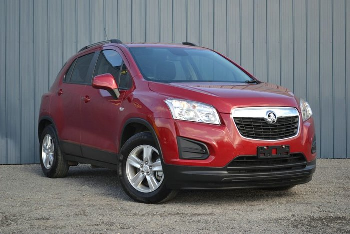 2013 Holden Trax LS TJ MY14 RED