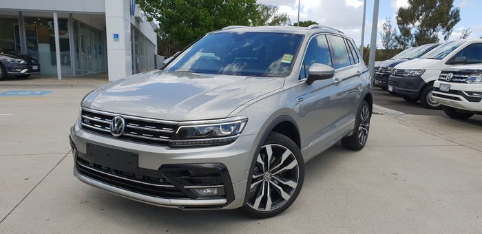 2020 Volkswagen Tiguan 162TSI Highline 5N MY20 Four Wheel Drive Silver
