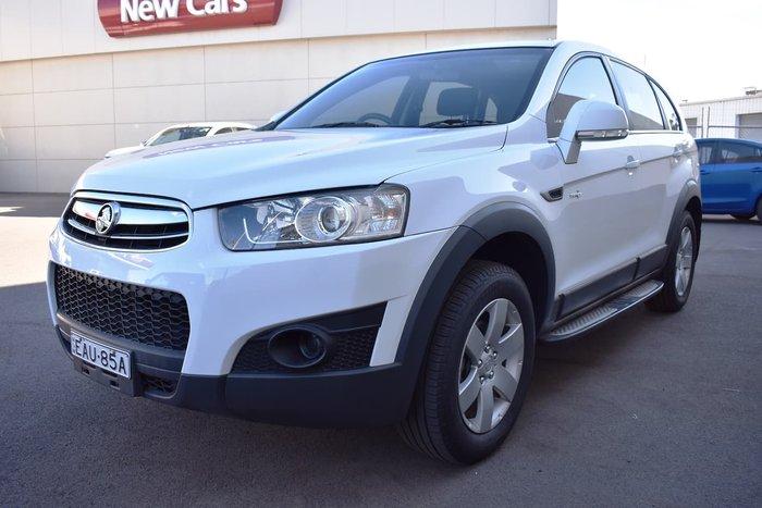 2013 Holden Captiva 7 SX CG MY13 White