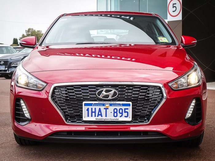 2020 Hyundai i30 Active PD2 MY20 Red