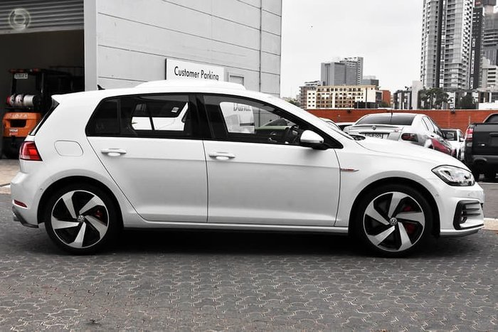 2020 Volkswagen Golf GTI 7.5 MY20 Pure White