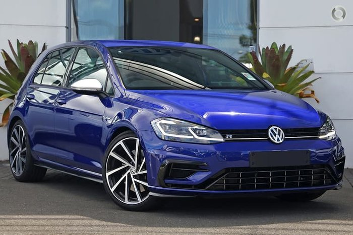 2020 Volkswagen Golf R 7.5 MY20 Four Wheel Drive Blue