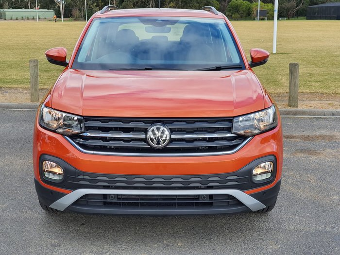 2020 Volkswagen T-Cross 85TSI Life C1 MY20 Orange