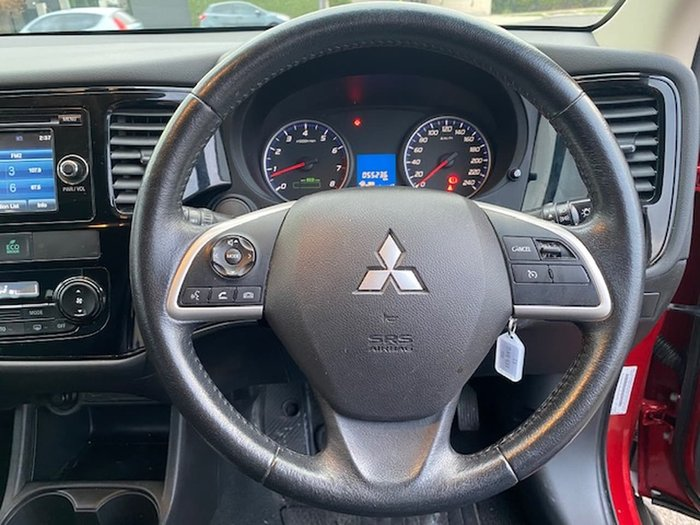 2014 Mitsubishi Outlander ES ZJ MY14.5 Red