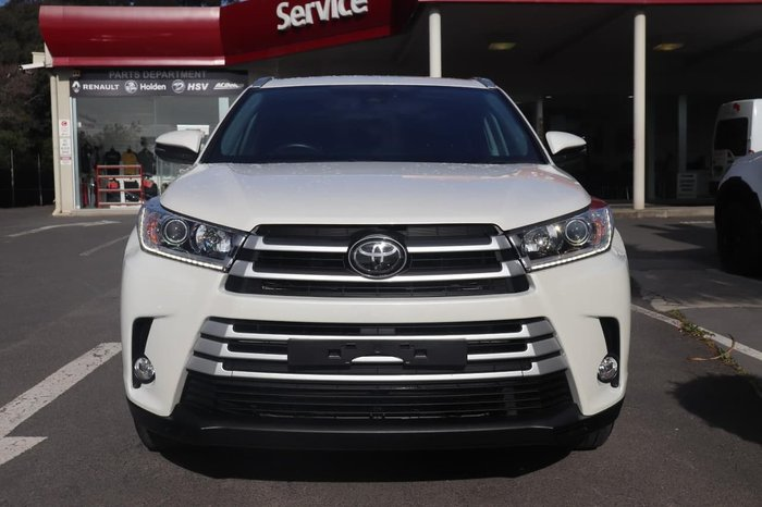2018 Toyota Kluger GXL GSU50R White