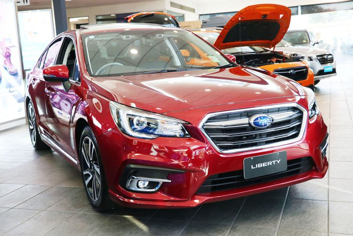 2020 Subaru Liberty 3.6R 6GEN MY20 Four Wheel Drive Red