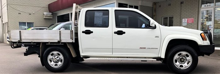2011 Holden Colorado LX RC MY11 4X4 White