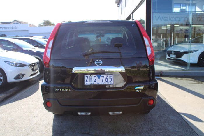 2012 Nissan X-TRAIL ST T31 Series IV Black